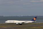 Gpapaさんが、羽田空港で撮影したルフトハンザドイツ航空 747-830の航空フォト(写真)