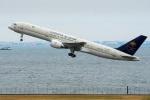 たかしさんが、羽田空港で撮影したサウジアラビア王国政府 757-23Aの航空フォト(写真)