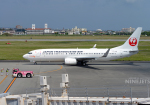 NINEJETSさんが、宮古空港で撮影した日本トランスオーシャン航空 737-8Q3の航空フォト(写真)