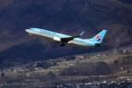 セピアさんが、松本空港で撮影した大韓航空 737-8LHの航空フォト(写真)