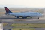 uhfxさんが、関西国際空港で撮影したデルタ航空 747-451の航空フォト(写真)