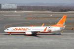 utarou on NRTさんが、新千歳空港で撮影したチェジュ航空 737-8ASの航空フォト(写真)