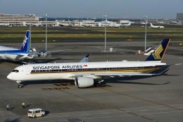 よしポンさんが、羽田空港で撮影したシンガポール航空 A350-941XWBの航空フォト(写真)