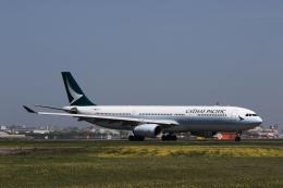 MOHICANさんが、福岡空港で撮影したキャセイパシフィック航空 A330-342の航空フォト(写真)