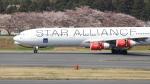誘喜さんが、成田国際空港で撮影したスカンジナビア航空 A340-313Xの航空フォト(写真)