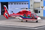 はるかのパパさんが、ホンダエアポートで撮影した埼玉県防災航空隊 AS365N3 Dauphin 2の航空フォト(写真)