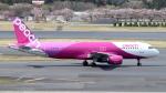 誘喜さんが、成田国際空港で撮影したピーチ A320-214の航空フォト(写真)