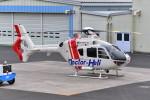 はるかのパパさんが、ホンダエアポートで撮影した本田航空 EC135P2の航空フォト(写真)