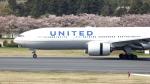 誘喜さんが、成田国際空港で撮影したユナイテッド航空 777-222の航空フォト(写真)