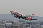 虎太郎19さんが、福岡空港で撮影した日本トランスオーシャン航空 737-446の航空フォト(写真)