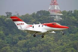 Eric Chenさんが、台北松山空港で撮影したホンダ・エアクラフト・カンパニー HA-420の航空フォト(写真)