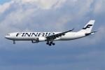 青春の1ページさんが、関西国際空港で撮影したフィンエアー A330-302Xの航空フォト(写真)