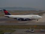 PW4090さんが、関西国際空港で撮影したデルタ航空 747-451の航空フォト(写真)