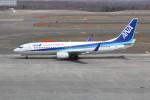 utarou on NRTさんが、新千歳空港で撮影した全日空 737-881の航空フォト(写真)