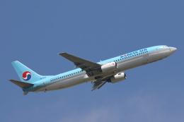 安芸あすかさんが、成田国際空港で撮影した大韓航空 737-9B5の航空フォト(写真)