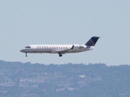 職業旅人さんが、サンフランシスコ国際空港で撮影したスカイウエスト CL-600-2B19 Regional Jet CRJ-200LRの航空フォト(写真)