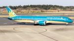 誘喜さんが、成田国際空港で撮影したベトナム航空 787-9の航空フォト(写真)