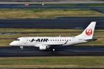 JA946さんが、羽田空港で撮影したジェイ・エア ERJ-170-100 (ERJ-170STD)の航空フォト(写真)