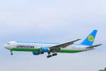 臨時特急7032Mさんが、福岡空港で撮影したウズベキスタン航空 767-33P/ERの航空フォト(写真)
