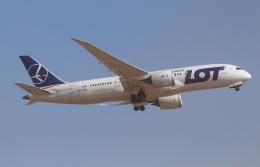 Koenig117さんが、成田国際空港で撮影したLOTポーランド航空 787-85Dの航空フォト(写真)