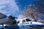 パンダさんが、成田国際空港で撮影したアジア航測 680E Commanderの航空フォト(写真)