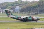遠森一郎さんが、福岡空港で撮影した航空自衛隊 C-1の航空フォト(写真)
