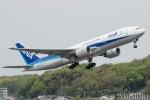 遠森一郎さんが、福岡空港で撮影した全日空 777-281/ERの航空フォト(写真)