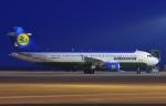 ★グリオさんが、中部国際空港で撮影したウズベキスタン航空 A320-214の航空フォト(写真)