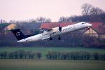 まいけるさんが、ウィーン国際空港で撮影したオーストリア航空 DHC-8-402Q Dash 8の航空フォト(写真)