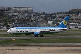 MOHICANさんが、福岡空港で撮影したウズベキスタン航空 767-33P/ERの航空フォト(写真)