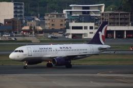 MOHICANさんが、福岡空港で撮影したマカオ航空 A319-132の航空フォト(写真)