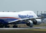 tuckerさんが、成田国際空港で撮影した日本貨物航空 747-8KZF/SCDの航空フォト(写真)