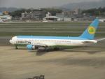 commet7575さんが、福岡空港で撮影したウズベキスタン航空 767-33P/ERの航空フォト(写真)