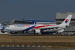 よしポンさんが、成田国際空港で撮影したマレーシア航空 A330-323Xの航空フォト(写真)