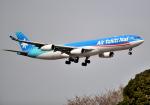 雲霧さんが、成田国際空港で撮影したエア・タヒチ・ヌイ A340-313Xの航空フォト(写真)