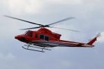 kaeru6006さんが、東京ヘリポートで撮影した新日本ヘリコプター 412EPの航空フォト(写真)