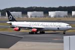 turenoアカクロさんが、成田国際空港で撮影したスカンジナビア航空 A340-313Xの航空フォト(写真)