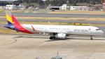 誘喜さんが、成田国際空港で撮影したアシアナ航空 A321-231の航空フォト(写真)