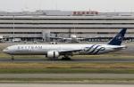 スポット110さんが、羽田空港で撮影したエールフランス航空 777-328/ERの航空フォト(写真)