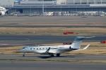 ハピネスさんが、羽田空港で撮影したウィルミントン・トラスト・カンパニー  Gulfstream G650 (G-VI)の航空フォト(写真)