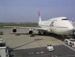 atomarkさんが、羽田空港で撮影した日本航空 747-146B/SR/SUDの航空フォト(写真)