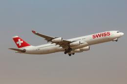 Koenig117さんが、成田国際空港で撮影したスイスインターナショナルエアラインズ A340-313Xの航空フォト(写真)