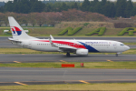 PASSENGERさんが、成田国際空港で撮影したマレーシア航空 737-8H6の航空フォト(写真)