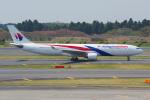 PASSENGERさんが、成田国際空港で撮影したマレーシア航空 A330-323Xの航空フォト(写真)