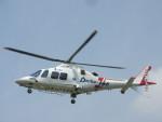 kamonhasiさんが、静岡ヘリポートで撮影した静岡エアコミュータ AW109SPの航空フォト(写真)