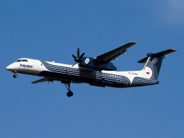 Mame @ TYOさんが、成田国際空港で撮影したオーロラ DHC-8-402Q Dash 8の航空フォト(写真)