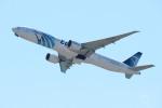 水月さんが、関西国際空港で撮影したエジプト航空 777-36N/ERの航空フォト(写真)