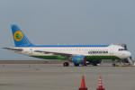 SFJ_capさんが、中部国際空港で撮影したウズベキスタン航空 A320-214の航空フォト(写真)