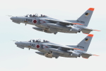 isiさんが、茨城空港で撮影した航空自衛隊 T-4の航空フォト(写真)