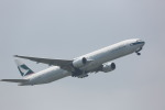 meijeanさんが、成田国際空港で撮影したキャセイパシフィック航空 777-367の航空フォト(写真)